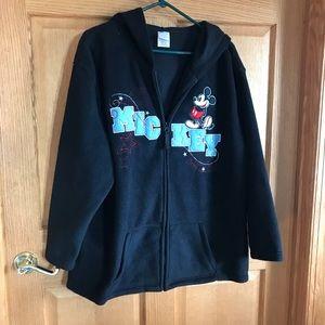 Disney , Mickey hood sweater, size 2 X 18/20